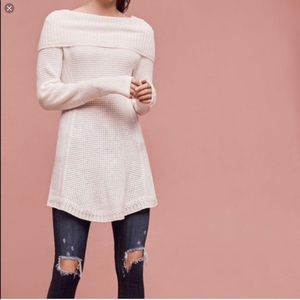 Anthropologie Angel of the North soft knit tunic